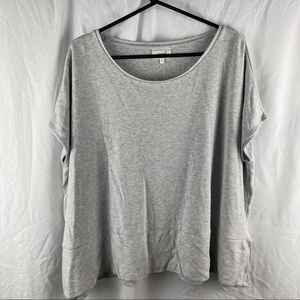 Seed Heritage Grey Basic Top Size L
